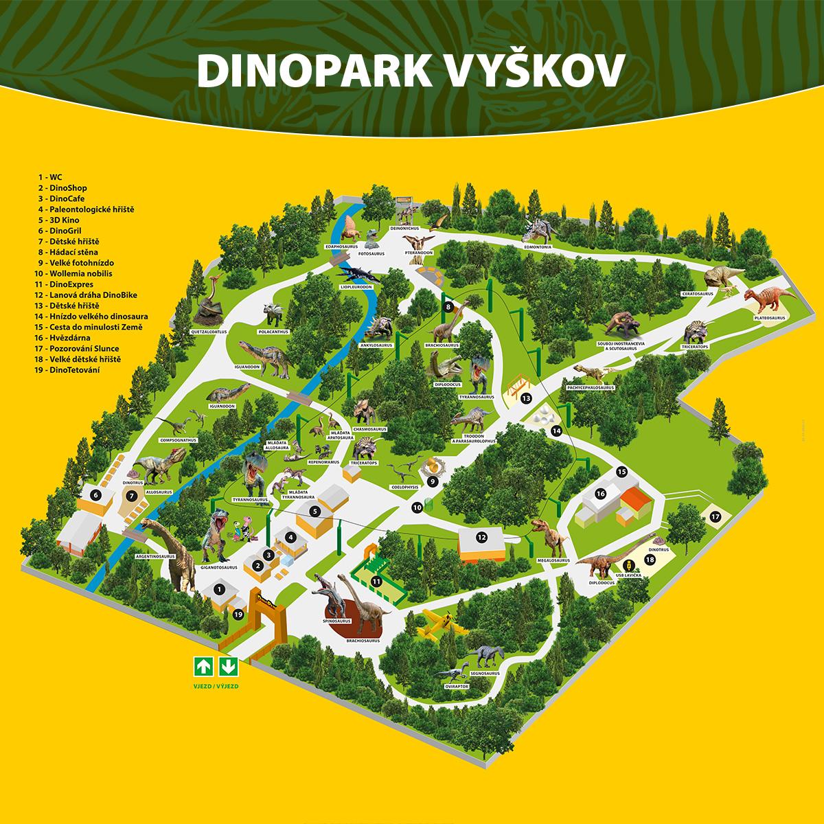 Dinopark Zoo Vyskov